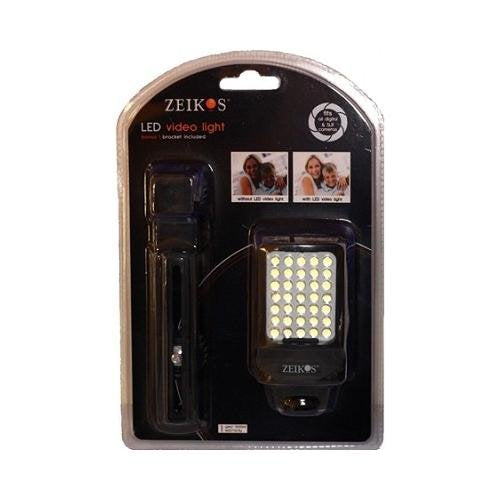 Zeikos LED Digital Photo & Video Camcorder Light with Bracket - iHip