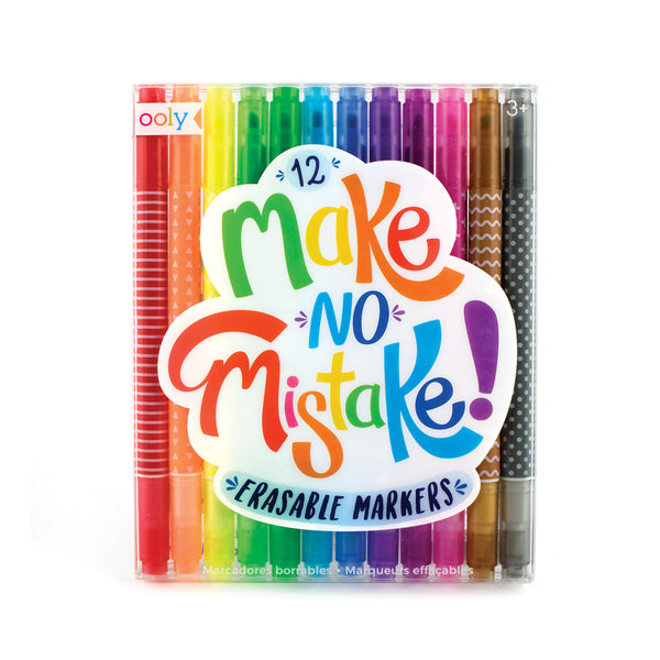 Make No Mistake! Erasable Markers