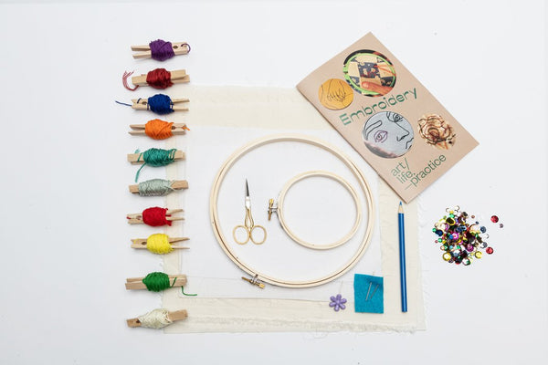 Art Life Practice: Embroidery Kit