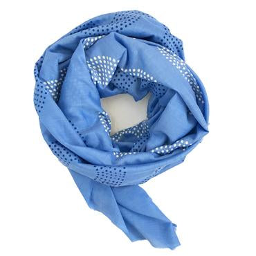 Block Shop: Arroyo Scarf Blue