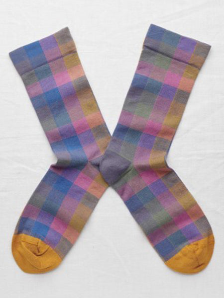 Bonne Maison Checks Multico Socks
