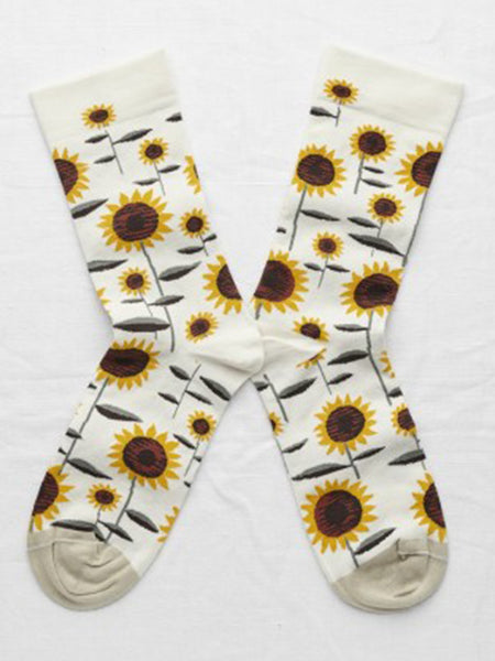 Bonne Maison Natural Sunflower Socks