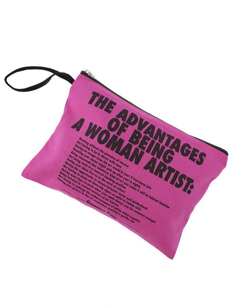 Advantages of...Guerrilla Girls Clutch