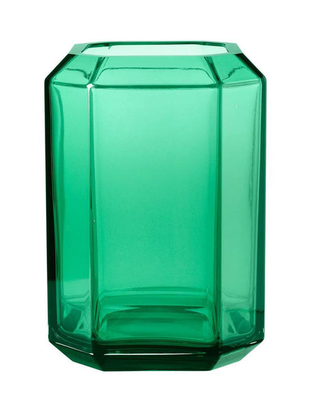 Louise Roe: Jewel Vase Green