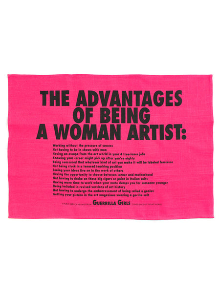 Guerrilla Girls: Tea Towel