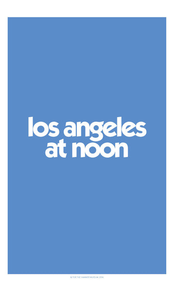 Los Angeles at Noon Poster