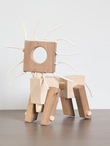 Monroe Workshop: Josh the Lion Wooden Toy