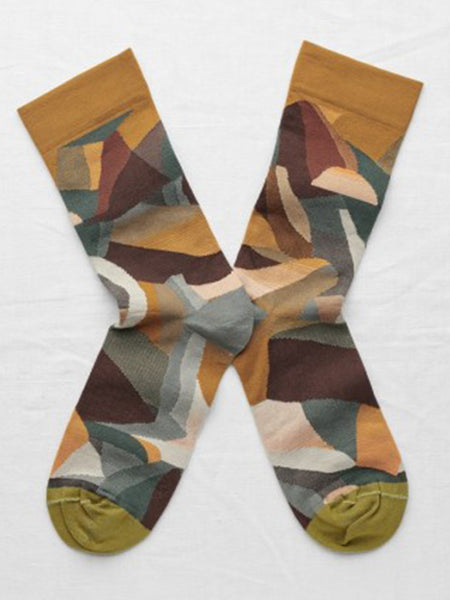 Bonne Maison Multi Mountain Socks