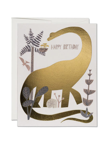 Notecard Dinosaur Birthday