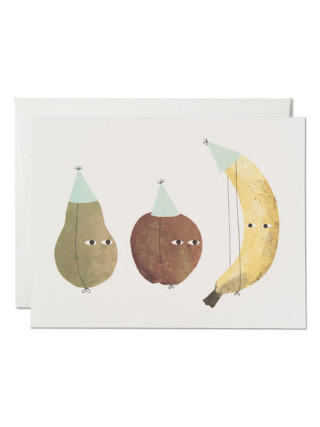 Notecard Fruit Party