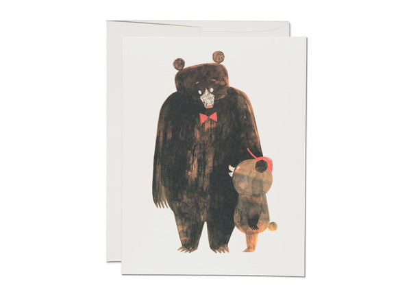 Daddy Bear Notecard