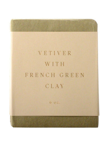 Saipua Vetiver with French Clay Soap