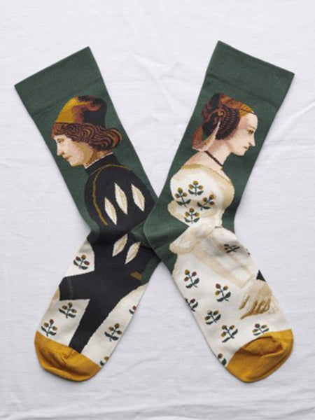 Bonne Maison: The Couple Socks