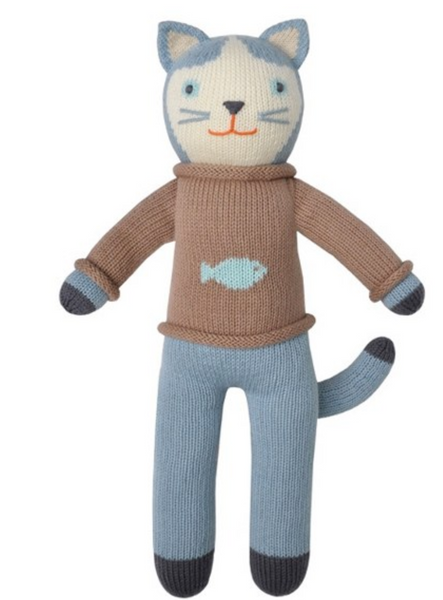 Blabla: Cat w/ Sardine Sweater Doll