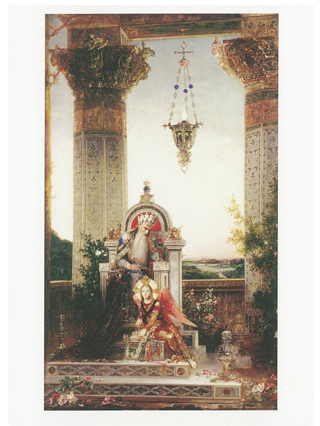 AHC Postcard Moreau: King David