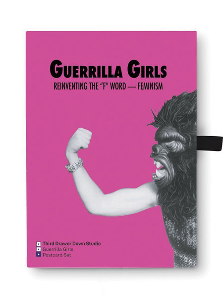 Postcard box set Guerrilla Girls