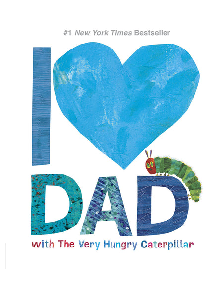 I Love Dad with The Very Hungry Caterpillar