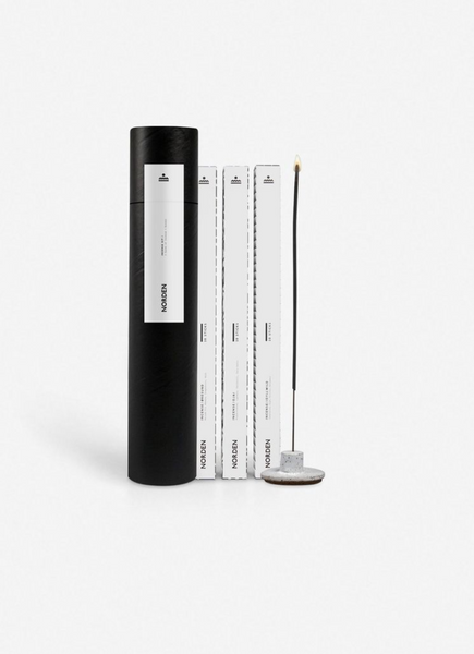 Norden: Incense Kit (White Ceramic)