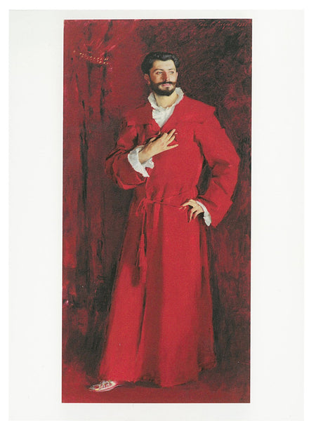 AHC Postcard Sargent: Dr Pozzi at Home