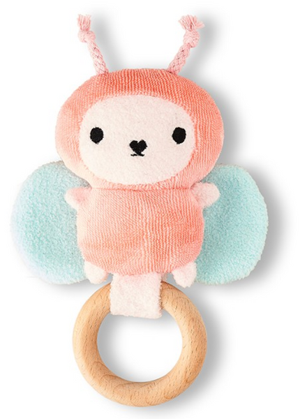 Pink Ricebutter Baby Rattle Noodoll