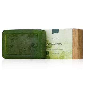 Thymes Bar Soap - Eucalyptus (190g/6.8oz)