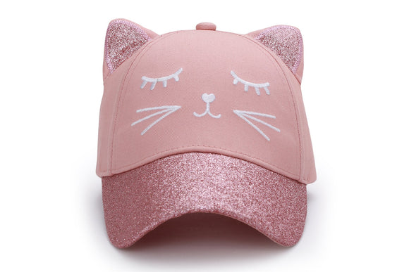 Kids 3D Cap - Cat