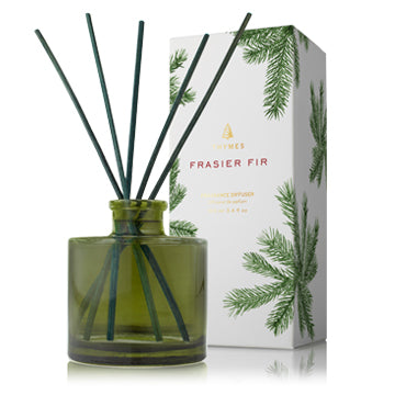 Thymes Frasier Fir Petite Reed Diffuser Set