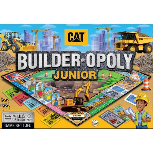 Builder-opoly Junior Board game
