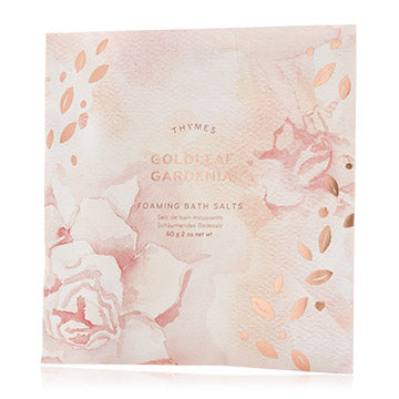 Goldleaf Gardenia Foaming Bath Envelope