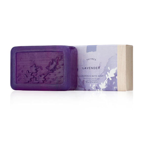 Thymes Bar Soap - Lavender (190g/6.8oz)