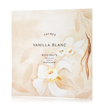 Vanilla Blanc Bath Salts Envelope