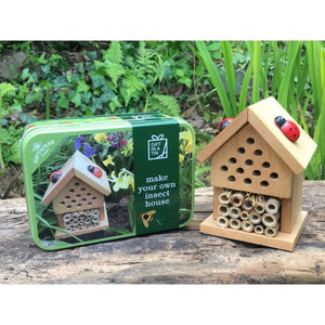 Make Your Own Insect House - Gift in a Tin