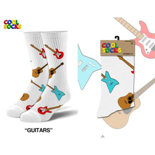 Guitars - Men's Cool Socks