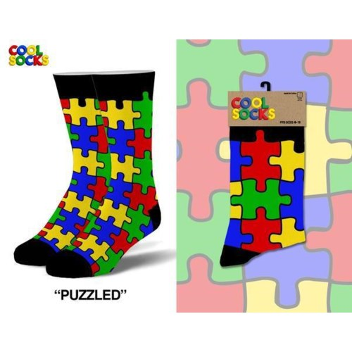 Puzzled - Men's Cool Socks