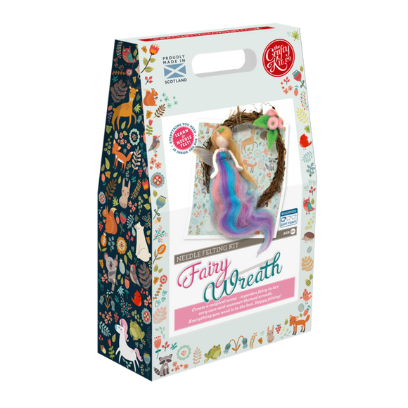 Fairy Wreath Needle Felting Kit