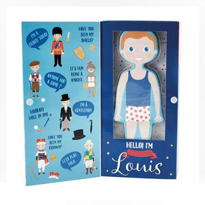 Magnetic Dress Up Character - Louis