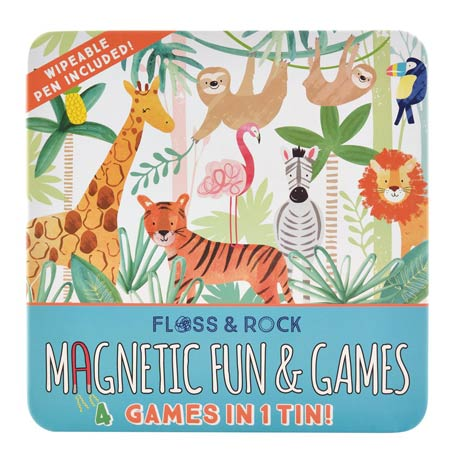 Magnetic Fun and Games - Jungle