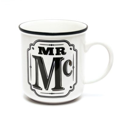 Alphabet Mug - MR Mc