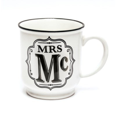 Alphabet Mug - MRS Mc