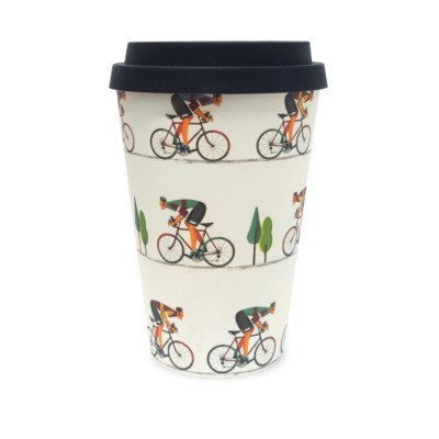 Bamboo Eco Mug - Bike