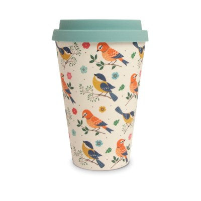Bamboo Eco Mug - Birds