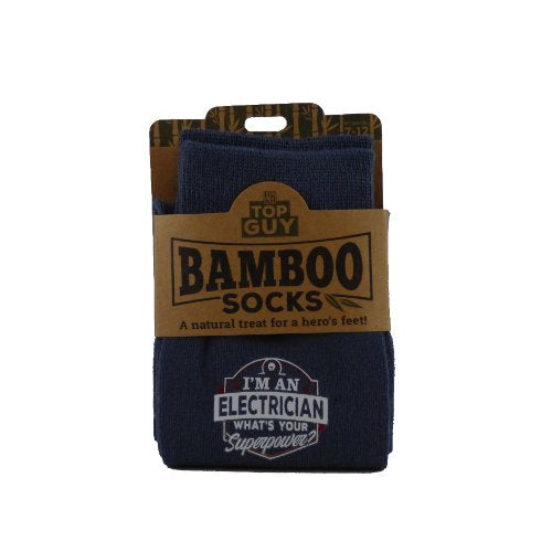 Top Guy Bamboo Socks - Electrician