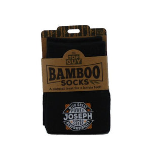 Top Guy Bamboo Socks - Joseph