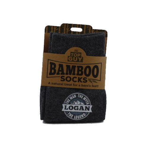 Top Guy Bamboo Socks - Logan