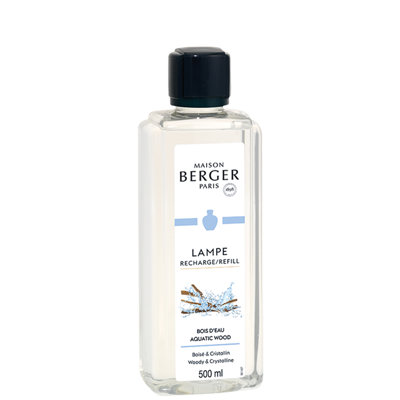 Lamp Berger Lamp Oil Fragrance - Aquatic Wood 500 ml