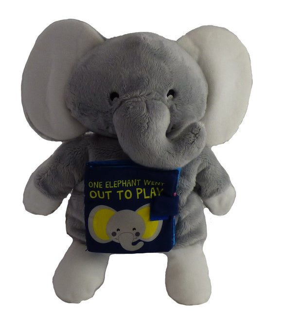One Little Elephant Went Out to Play Storybook Hand Puppet
