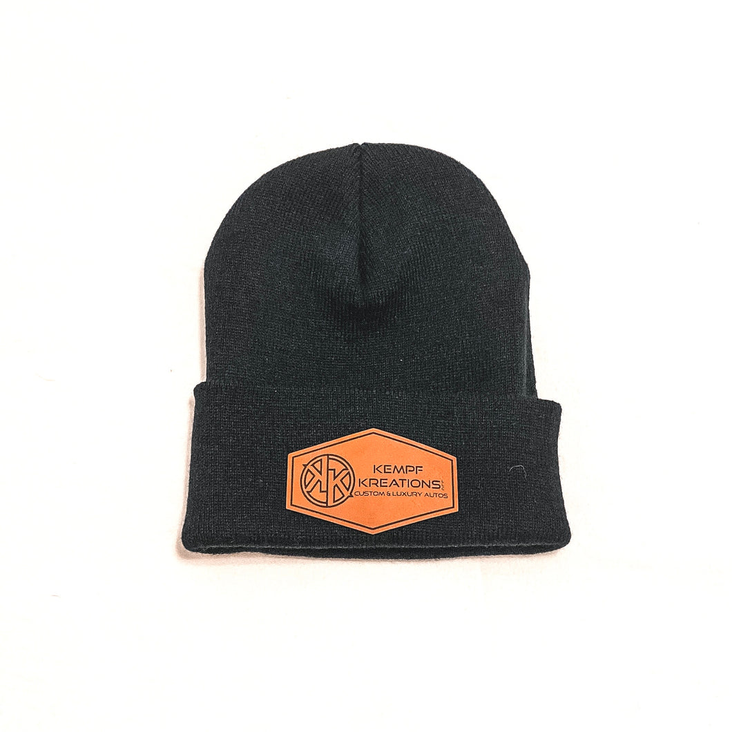 Patch it Beanie - Black