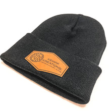 Load image into Gallery viewer, Patch it Beanie - Black