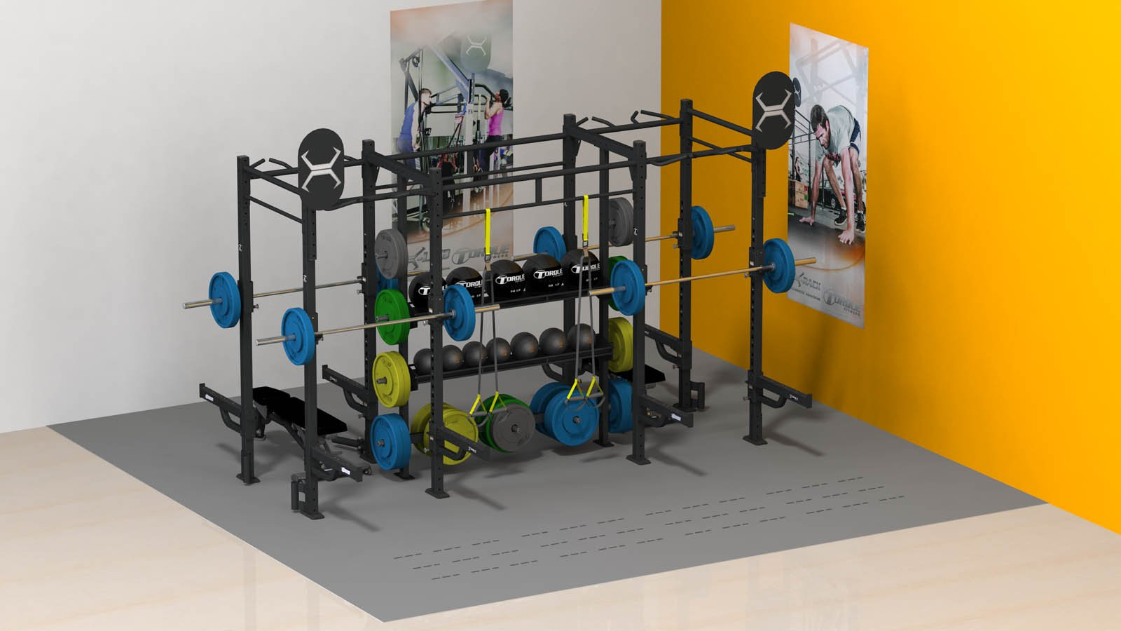 X-RACK – 400 SQUARE FEET 20′ X 30′
