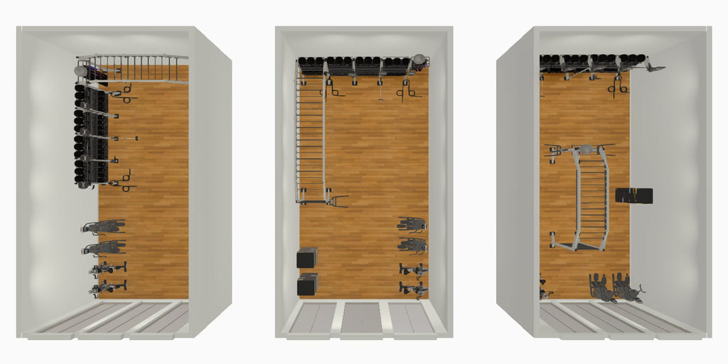 RACQUETBALL FUNCTIONAL AREA CONVERSION - X-CREATE